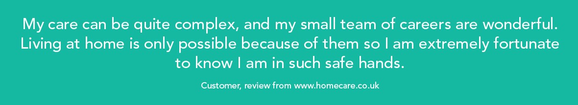 Home care review from HomeCare.co.uk