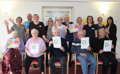 Portcullis House in Langport celebrates Good CQC rating